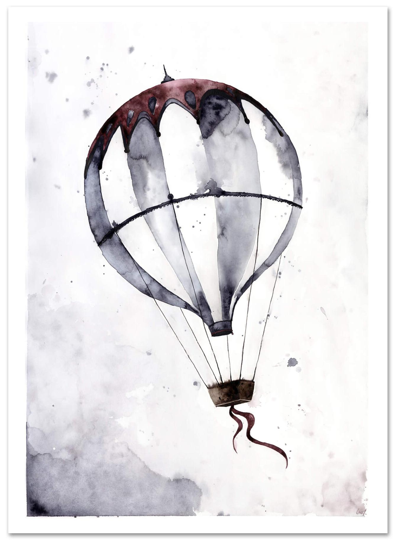 Flying Balloon © Leo la Douce