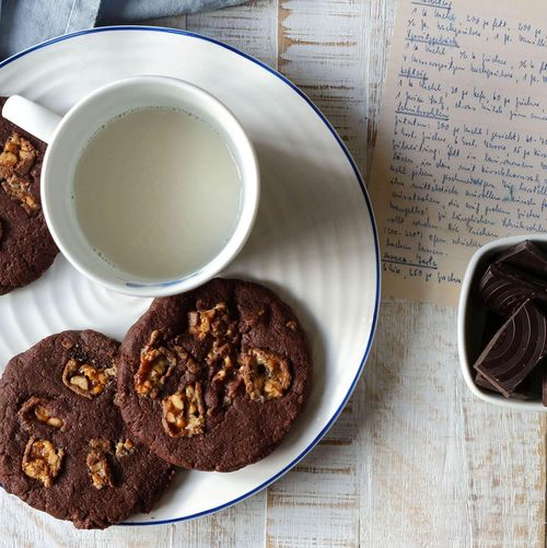 Chocolate Snickers Cookies von Kerstin Eitner